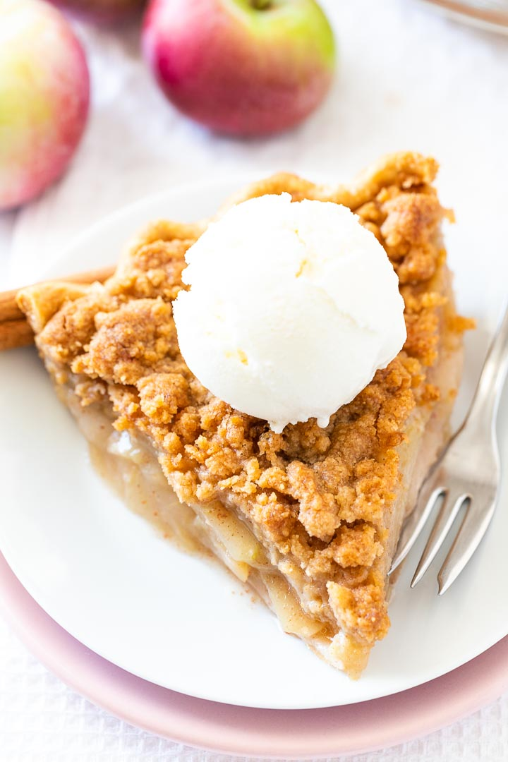 Apple Crumble Pie Recipe Homemade Dutch Apple Pie Plated Cravings