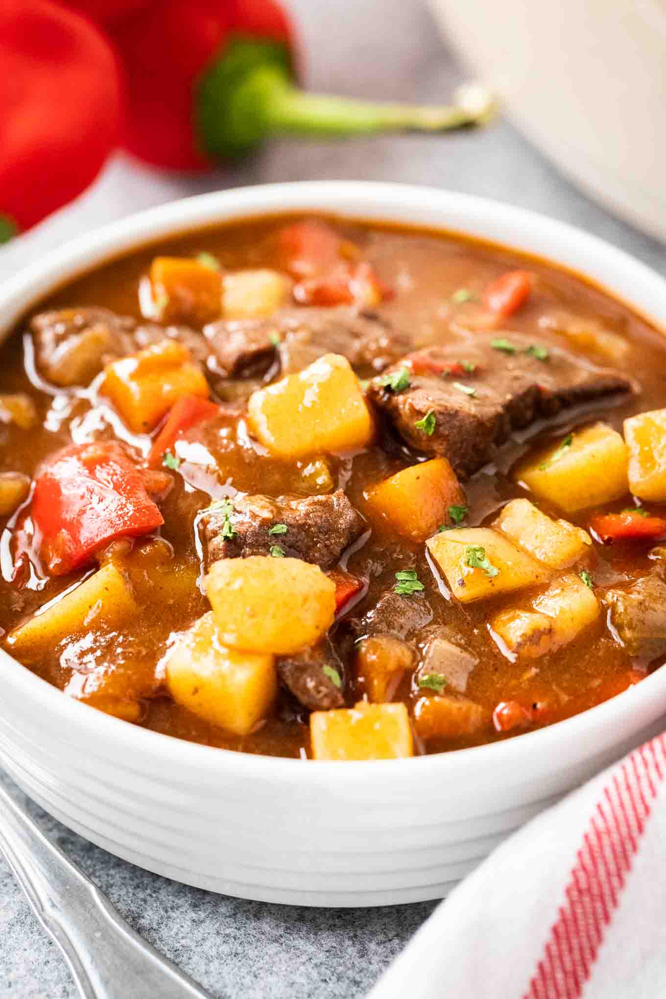Hungarian Goulash Easy Authentic Goulash Recipe Plated Cravings