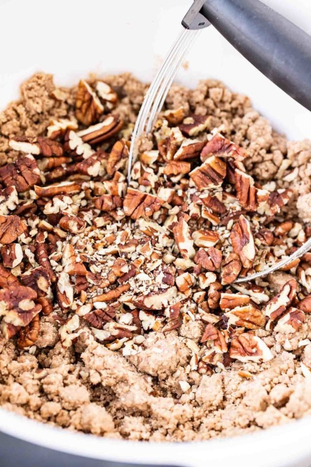 Pecan Crunch Topping for Pumpkin Pie
