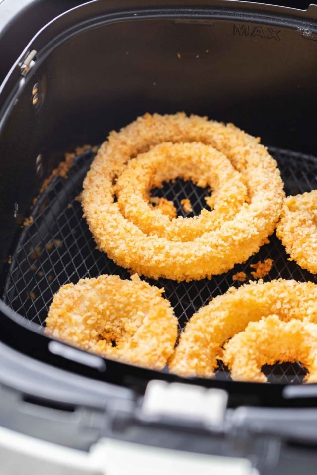 Onion Rings in an Air Fryer