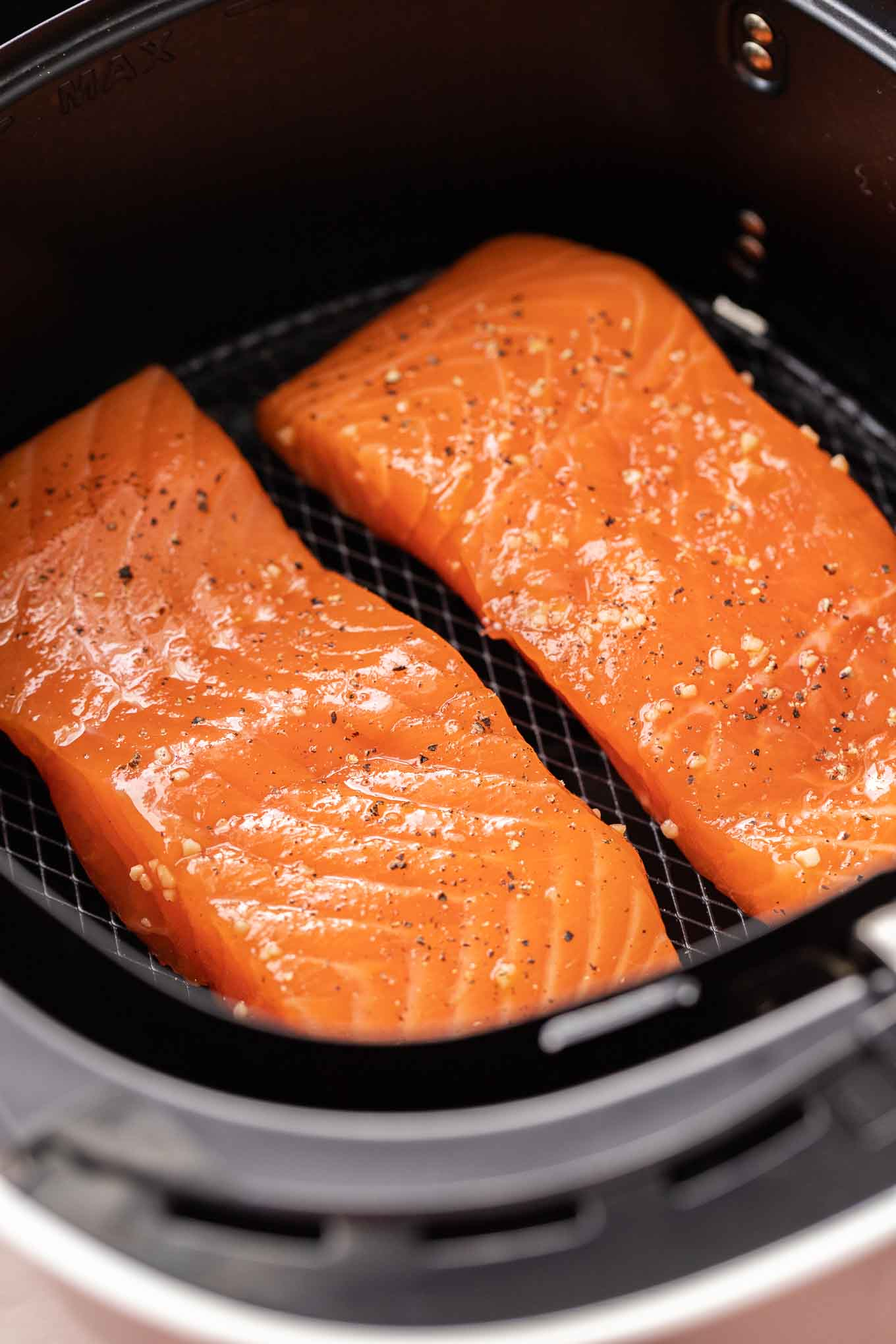 Air Fryer Salmon Plated Cravings