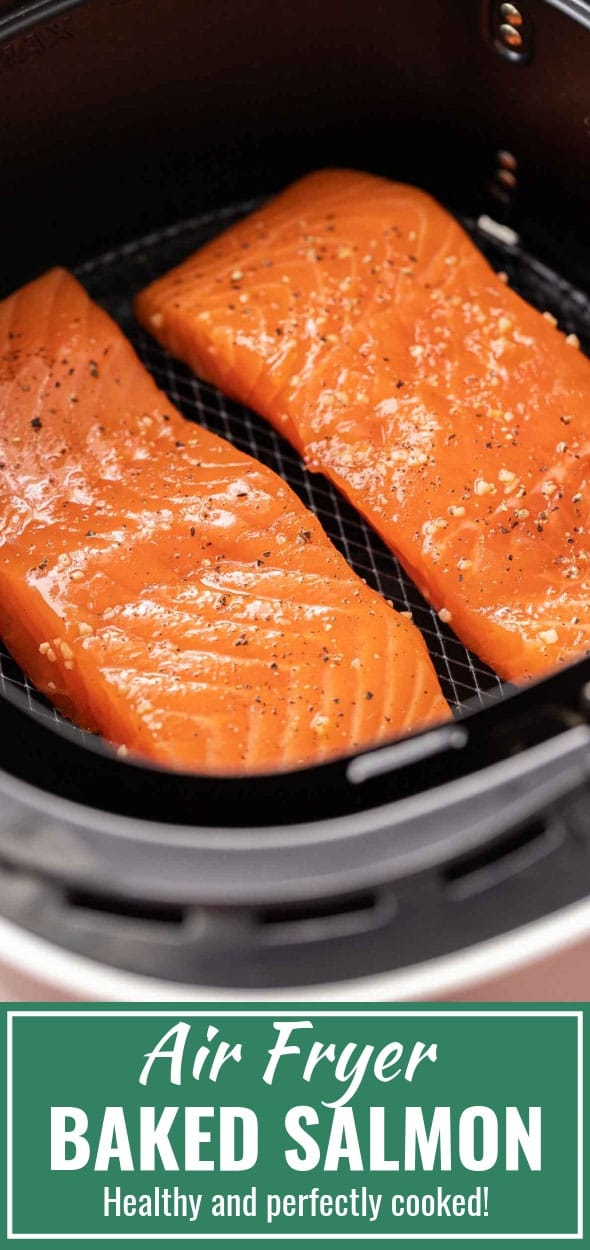 Air Fryer Salmon Plated Cravings