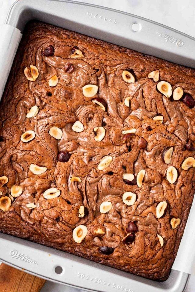 Easy Nutella Brownies