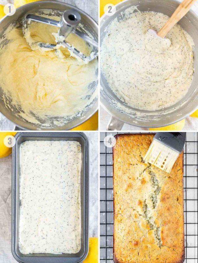 How to make Lemon Poppy Seed Bread