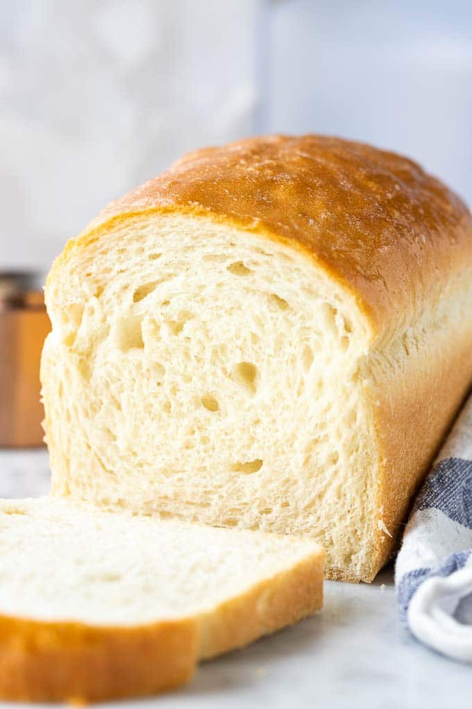 White Bread So Soft And Easy To Make Plated Cravings