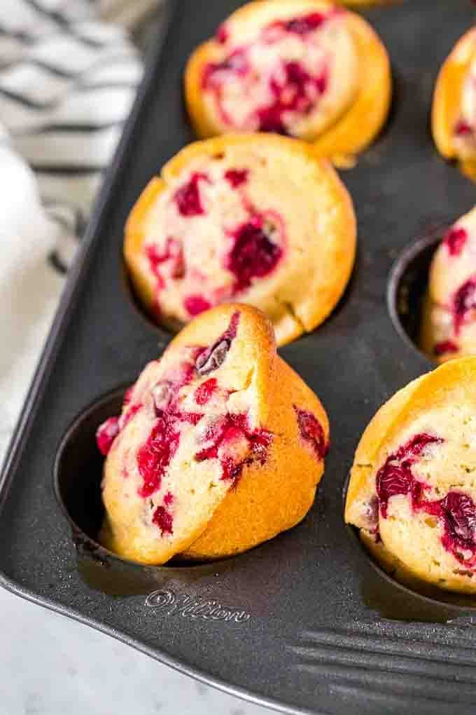 Cranberry Muffins with Orange