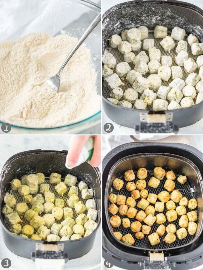 How to make Air Fryer Okra