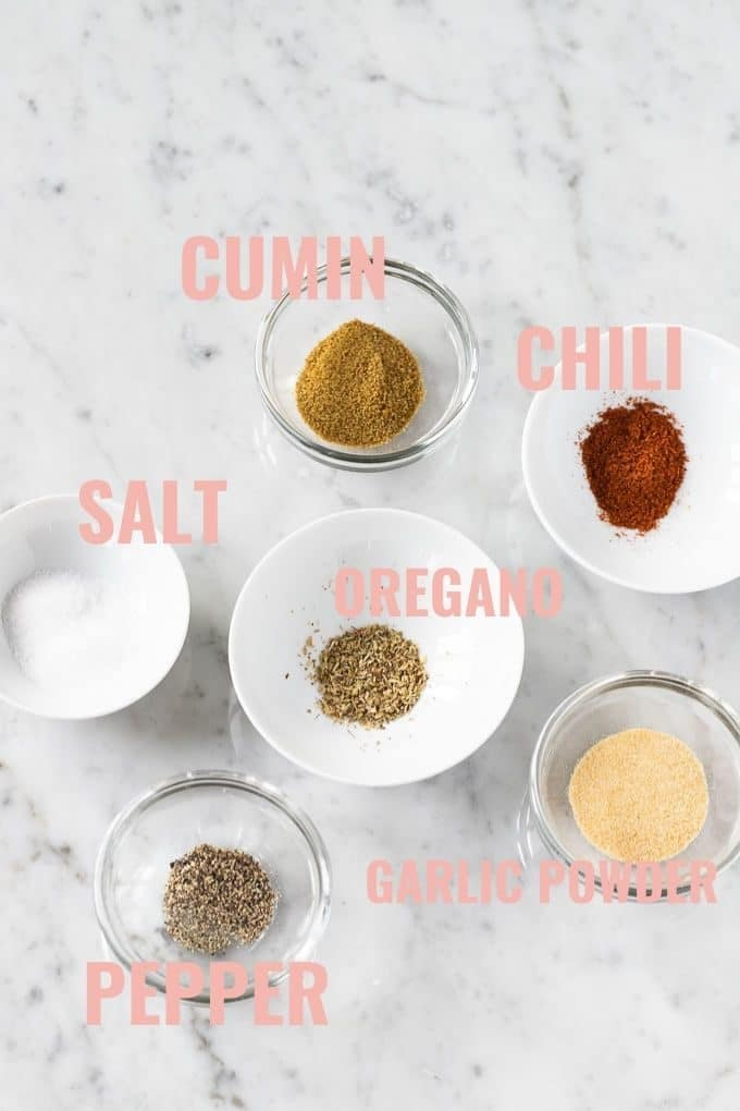 Spice Mixture for Carnitas