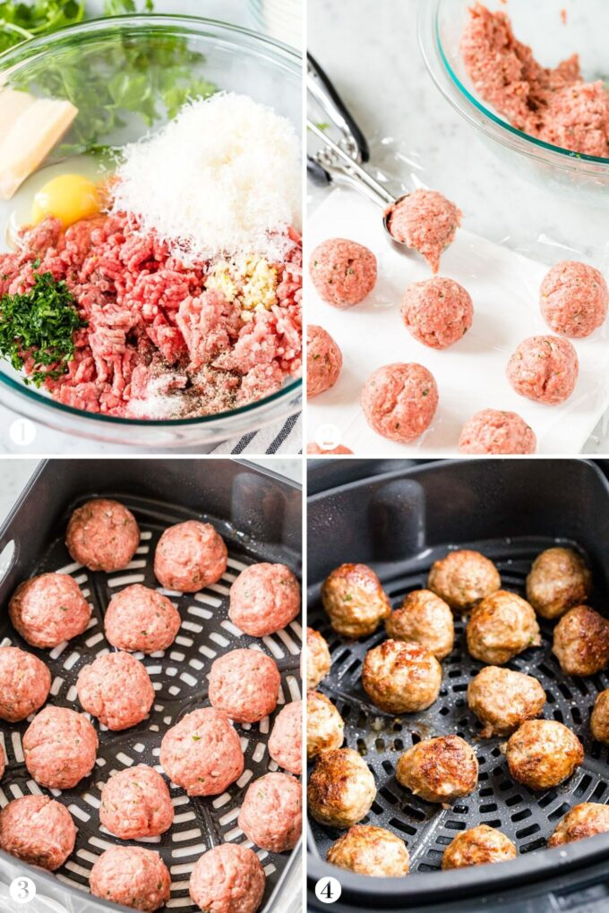 How to make Air Fryer Meatballs