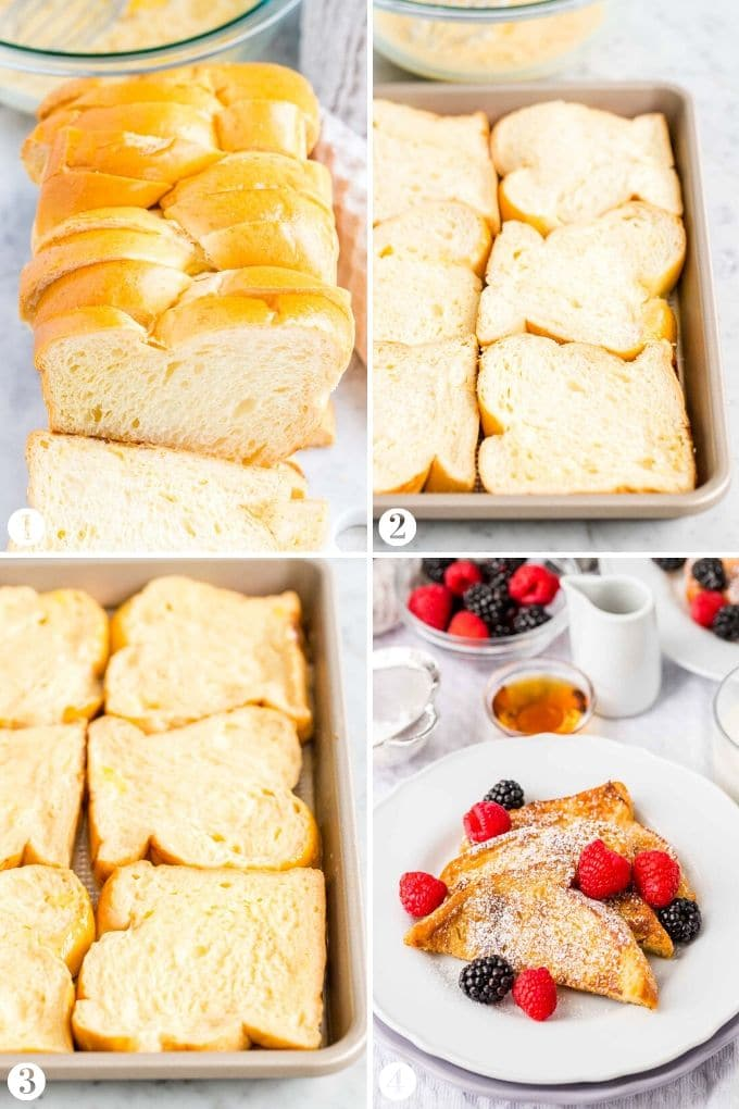 How to make French Toast step by step