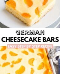 German Cheesecake Bars