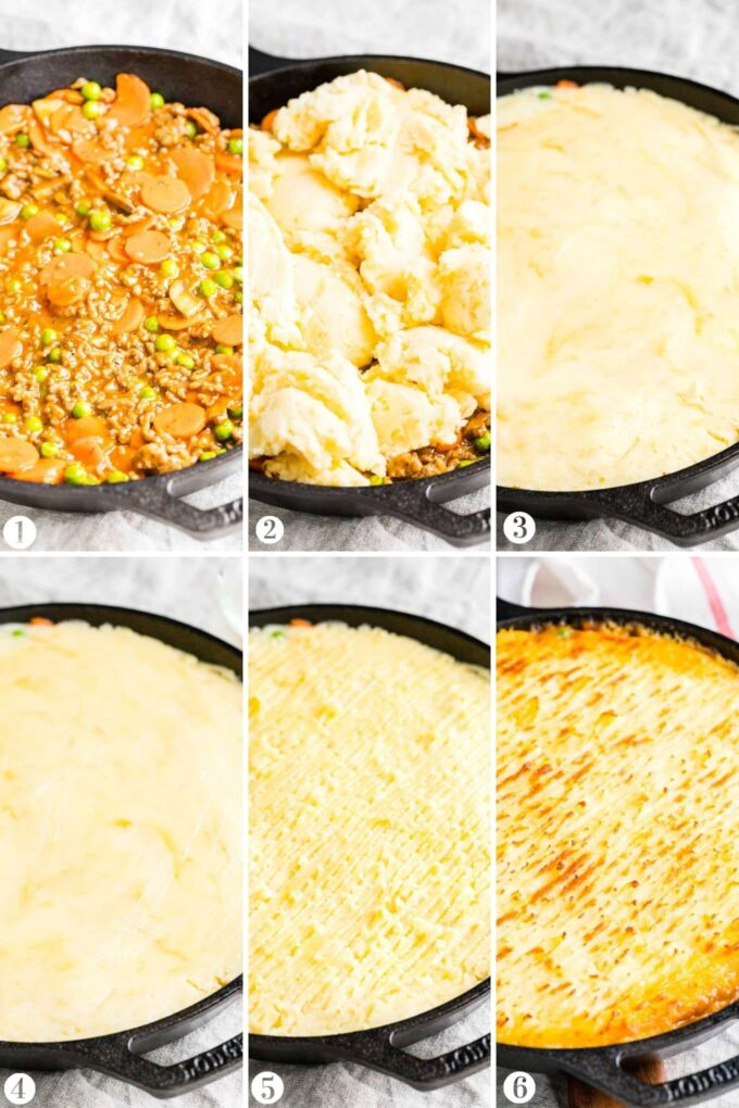 How to make Cottage Pie Collage