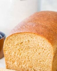 Whole Wheat Bread Pinterest Collage