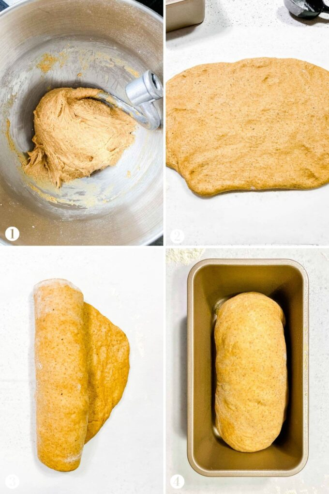 How to make Whole Wheat Bread step by step