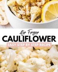 Air Fryer Cauliflower