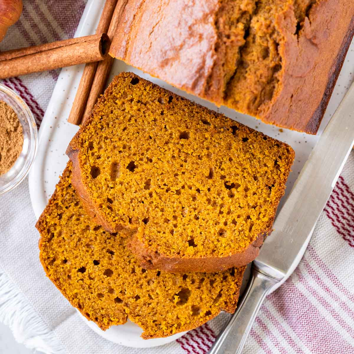 Easy Pumpkin Bread Starbucks Copycat Recipe Plated Cravings